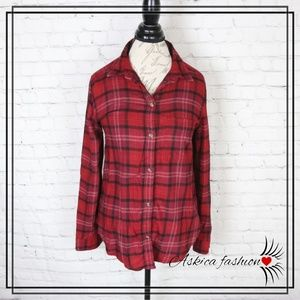 American Eagle Outfitters Tops - American Eagle Ahh Mazingly Soft Plaid Shirt
